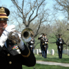 Military Funerals And The Playing Of Taps