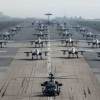 Massive show of US Air Power – 'Elephant Walk' Kadena Air Base