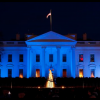 Trump to light White House in blue Monday night to honor fallen police officers