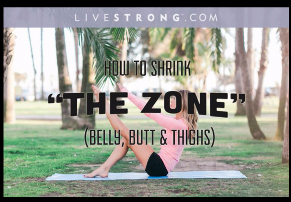 Moves to Shrink Your Belly, Butt and Thighs
