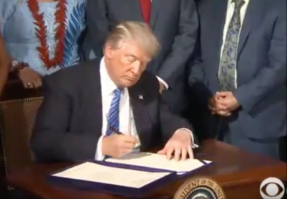 "President Trump signed into law the ""VA..."