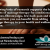 Rub Away The Day massage therapy is helping newcomers understand the health and wellness regimen benefits.