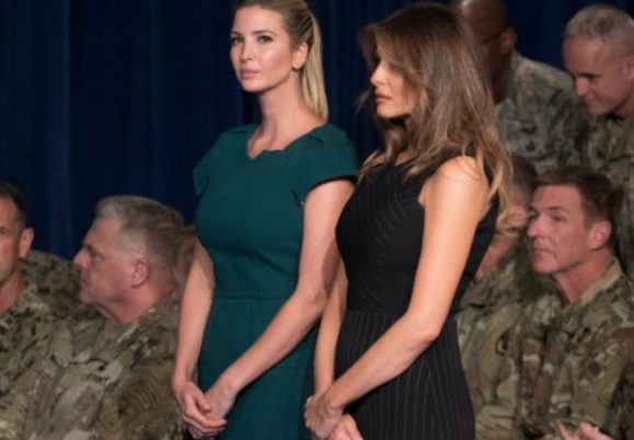 The fashion differences between Ivanka and...